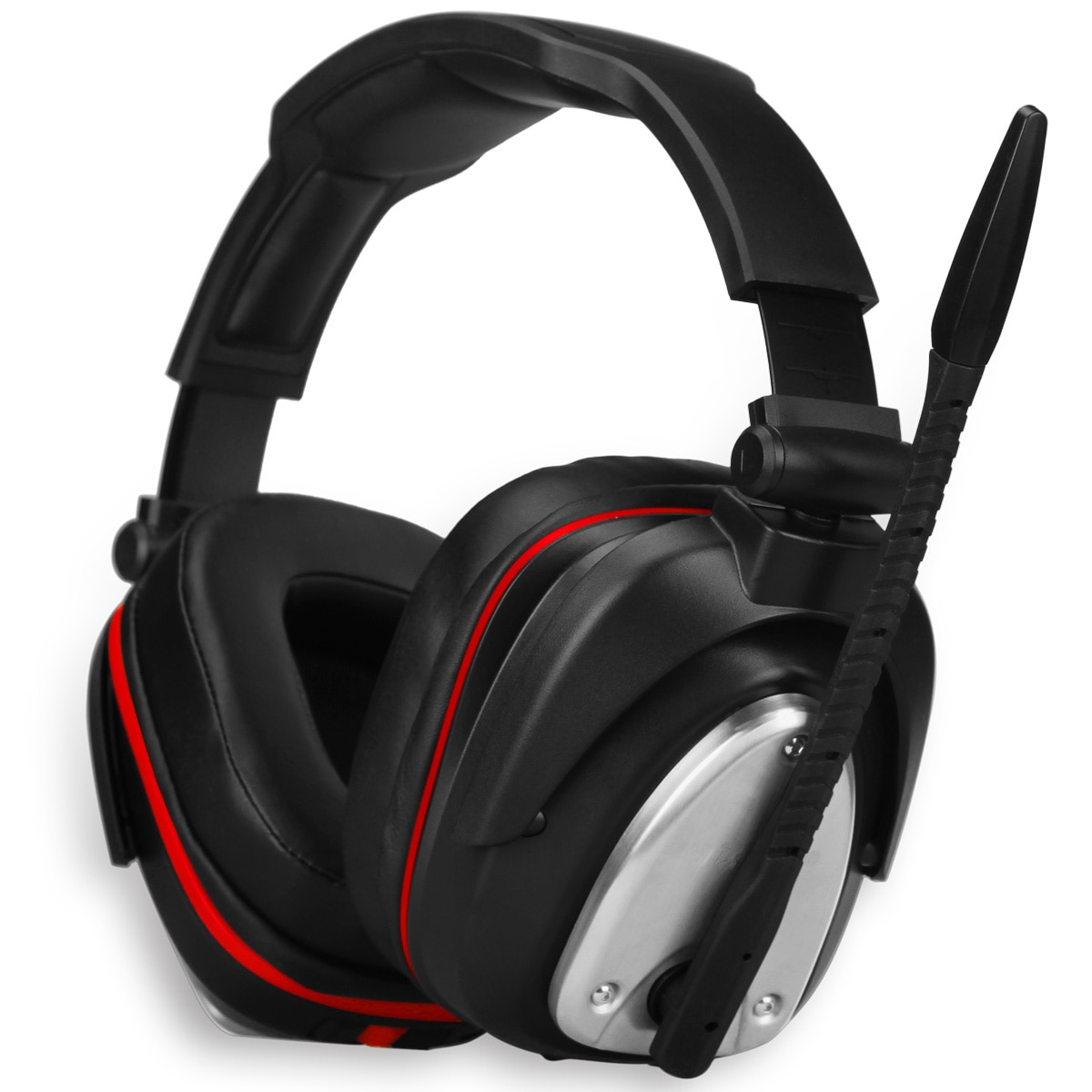 2.4G اللاسلكية الألعاب سماعات 7.1 الظاهري الصوت المحيطي طوي سماعات سماعة للكمبيوتر PS5 PS4 ماك التبديل مع ميكروفون