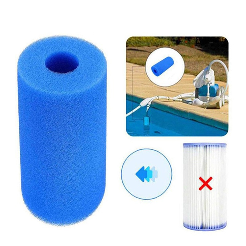 Filtre Spa Intex S1 Swimming Pool Filter Foam Reusable Washable Sponge Cartridge Suitable Bubble Jetted Pure Type Pool Filter