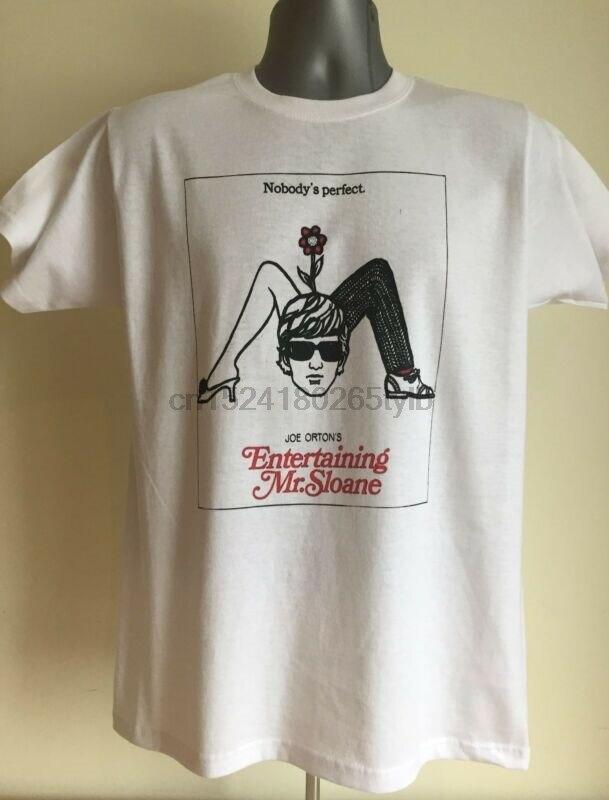 Camiseta de Peter Orton-escritor de Loot and entreteniendo al Sr. Sloane