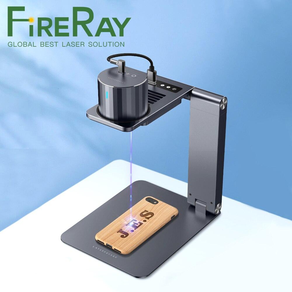Профессиональный лазерный гравер FireRay Pro, 3D принтер «сделай сам», лазерный гравер, гравировальная машина с автоматической подставкой, грави...