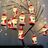 christmas decorations tree light gift fairy light holiday led lights pendant bedroom holiday decor lamp string light garland