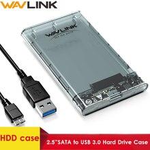 Wavlink HDD/boîtier SSD SATA vers USB 3.0 boîtier de disque dur pour disque dur 2.5