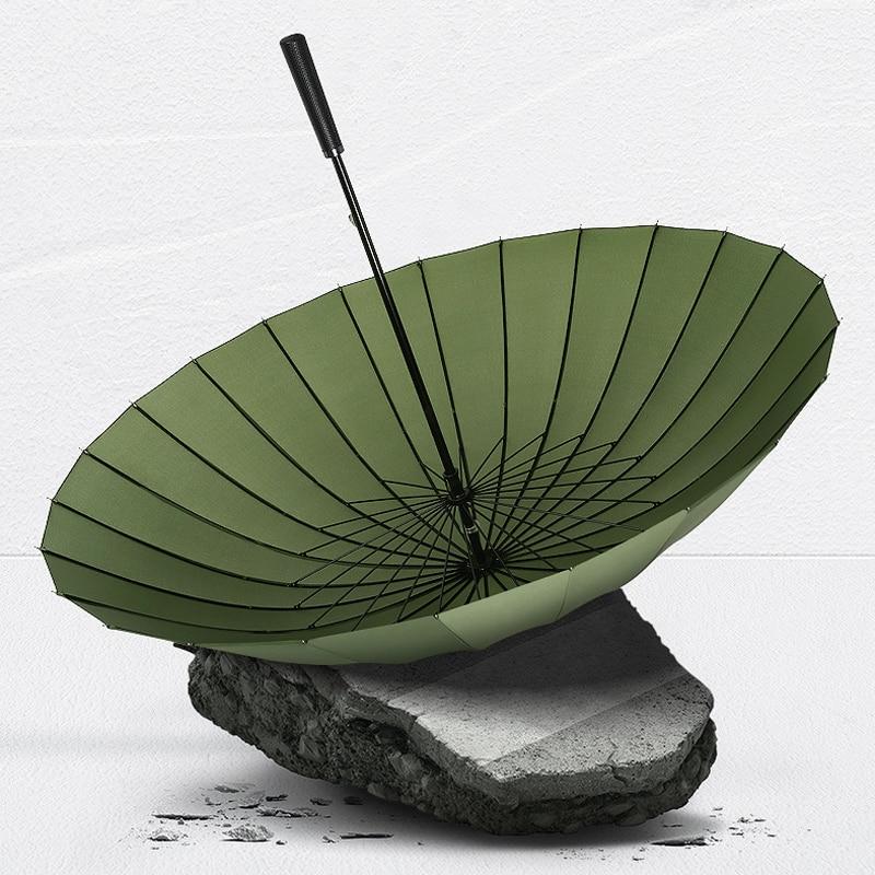 Weatherproof Umbrella Mountaineering Business Portable Long Handle Strong Sun Umbrella Men Outdoor Paraguas Rain Gear DF50YS enlarge