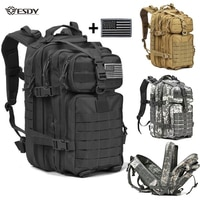 40л военный тактический рюкзак, рюкзак, армейский Молл, водонепроницаемая сумка, маленький рюкзак для активного отдыха, походов, кемпинга, ох...