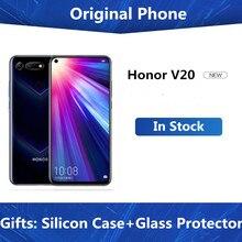Original Honor 20 Smartphone Honor V20 Android 9 6GB/8GB RAM 128GB/256gb ROM soporte NFC de carga rápida del teléfono móvil