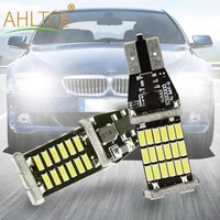 1x car white brake leds t15 w16w lamp auto canbus reversing lights ultra 4014 30smd 45smd rogue dome reading light back up bulbs