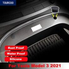Винтовая крышка для переднего багажника Tesla Model 3 2021, 2 шт., аксессуары для модификации автомобильного стайлинга