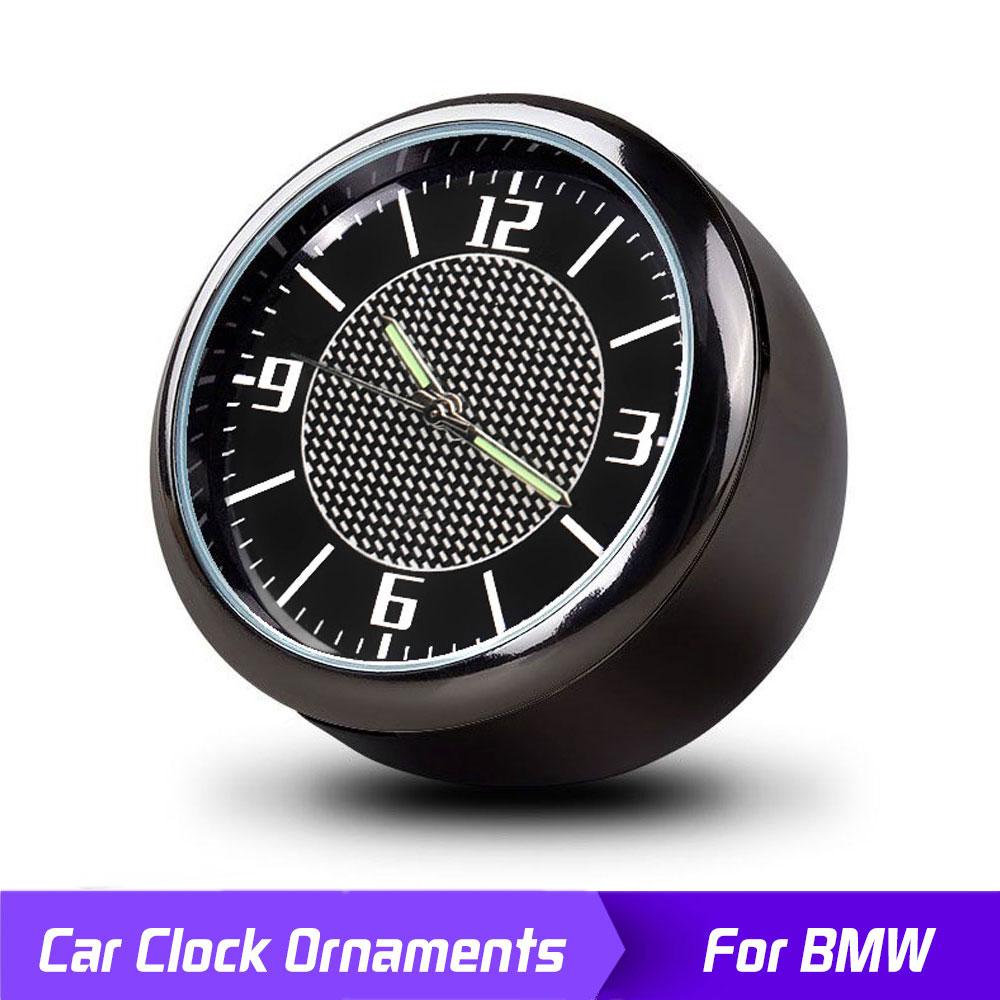 Car Clock Ornaments Auto Watch Air Vents Outlet Clip Mini Decoration For BMW E90 E60 E71 F30 F12 F10 X5 E70 E87 E92 E91 X1 X3 X5