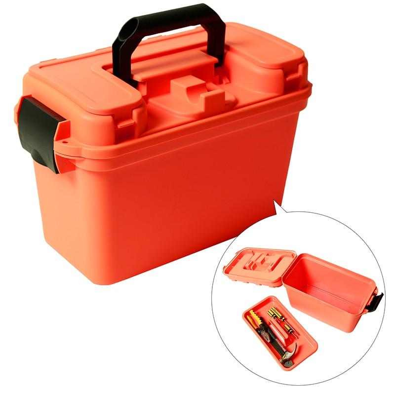 صندوق ذخيرة بلاستيكي للتخزين ، صندوق ذخيرة على الطراز العسكري ، خفيف الوزن ، عالي القوة ، ملحق ، حقيبة تخزين ، صندوق رصاصة تكتيكية