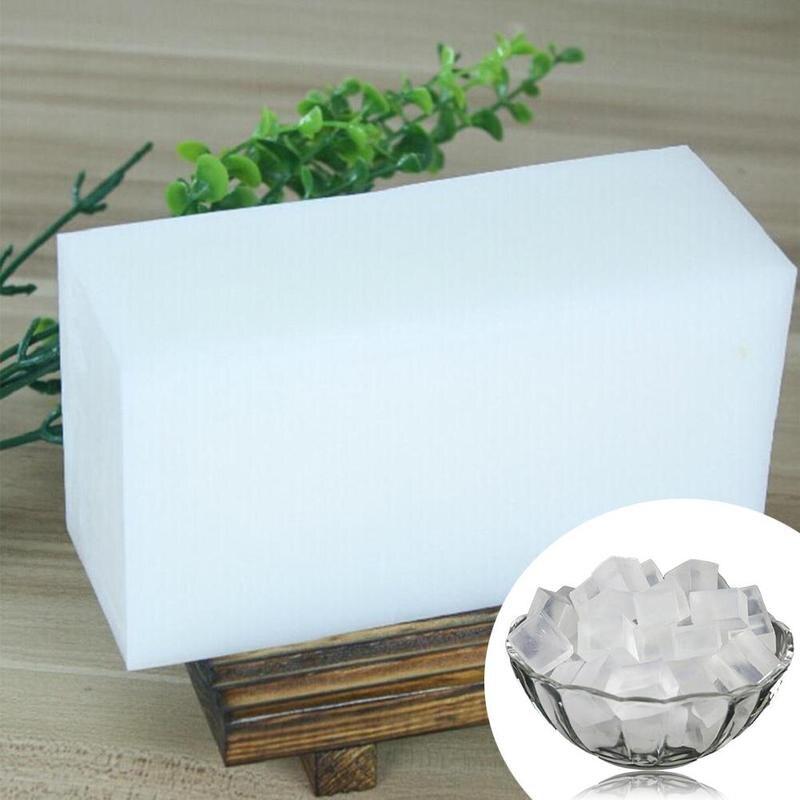 DIY handmade soap material natural milk soap essential DIY soap material handmade oil soap transparent C6W2
