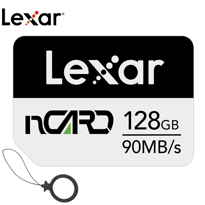 Lexar NM tarjeta de memoria 64G tarjeta de memoria 128G de alta velocidad 256G para Huawei Mate 20 30 P30 PRO Nova5 P40 4G 5G teléfono móvil Nano