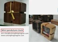 high quality desktop pendulum clock art alarm clock luxury clock environmentally friendly solid wood handmade and refined
