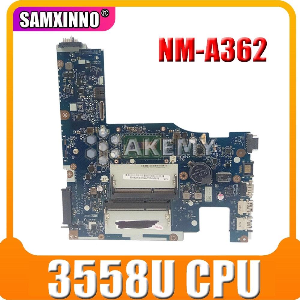 Nuevo ACLU1 ACLU2 UMA NM-A272 NM-A362 para For Lenovo G50-70 Z50-70 G50-80 placa base de computadora portátil con 3558U