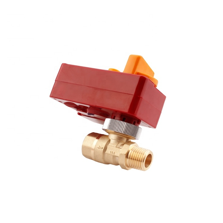Brass Forged Electric Actuator Ball  Hydrant Valve for Firefighting Hydrant System BJ51004 enlarge