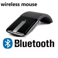 dual mode bluetooth wireless mouse 2 4g optical mouse for microsoft arc touch 2 0 portable folding mini wireless mouse