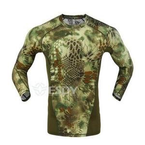 new tactical camouflage T-shirt man breathable army tactical network T-shirt military rapid drying T-shirt justin bieber fitness