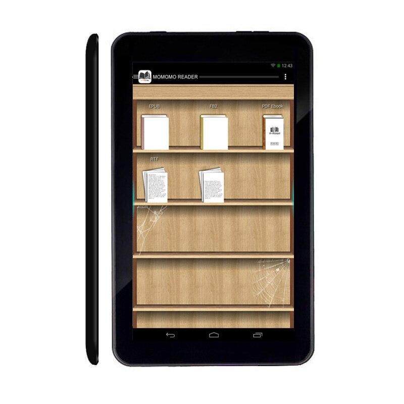 Caliente Digital e-Book Reader Android inteligente WiFi pc reproductor de juegos de retroiluminación para uso nocturno regalo Tarjeta de 32GB