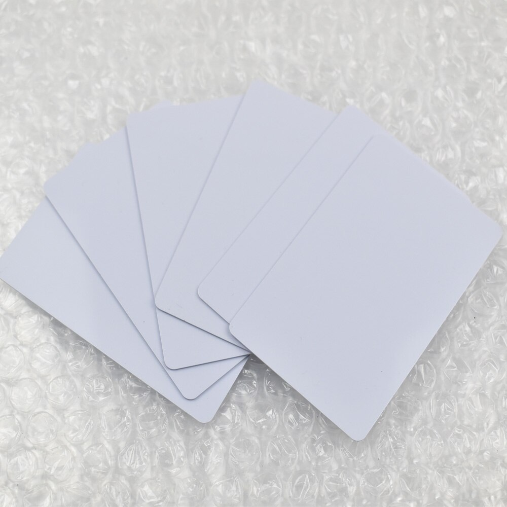 10 Uds NFC tarjeta inteligente 13,56 Mhz ultraligera UID cambiable rfid tarjeta en blanco