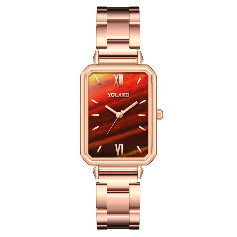 Luxury Women Watches Square Leather Quartz Wrist watch Retro Casual Ladies Watch Female Clock Gifts relogio feminino