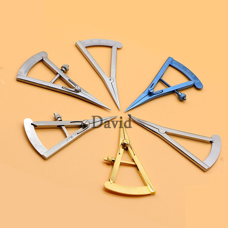Double eyelid measuring instrument buried double positioning designer eye ruler ophthalmic