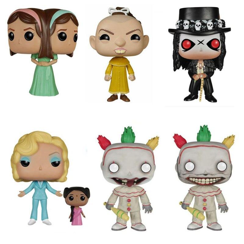 Американская история ужасов Фрик шоу скрученный клоун перец таттлер Близнецы Эльза папа Легба фигурка коллекция виниловая кукла модель игрушки