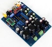 Carte de préamplificateur CS8412 + NE5534 carte de décodeur Coaxial à fibres optiques TDA1541 (y compris USB, à lexclusion des ci Tda1541 et Saa7220)