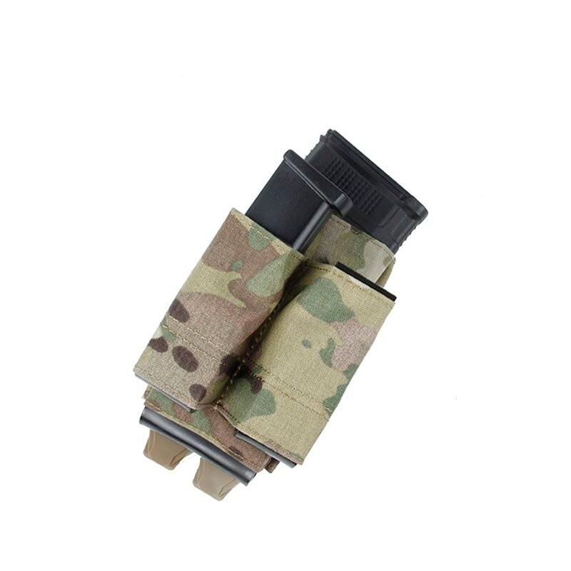 Nuevo Multicam TMC3093-MC Molle M4 Mag, estuche doble para pistola Mag para chaleco táctico, sistema Molle