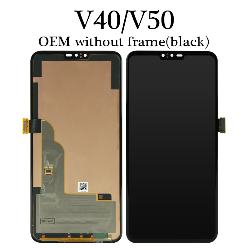 LCD For LG V50 ThinQ LCD Display Touch Screen Digitizer Assembly without Frame Replacement For LG V40/V50 LCD enlarge