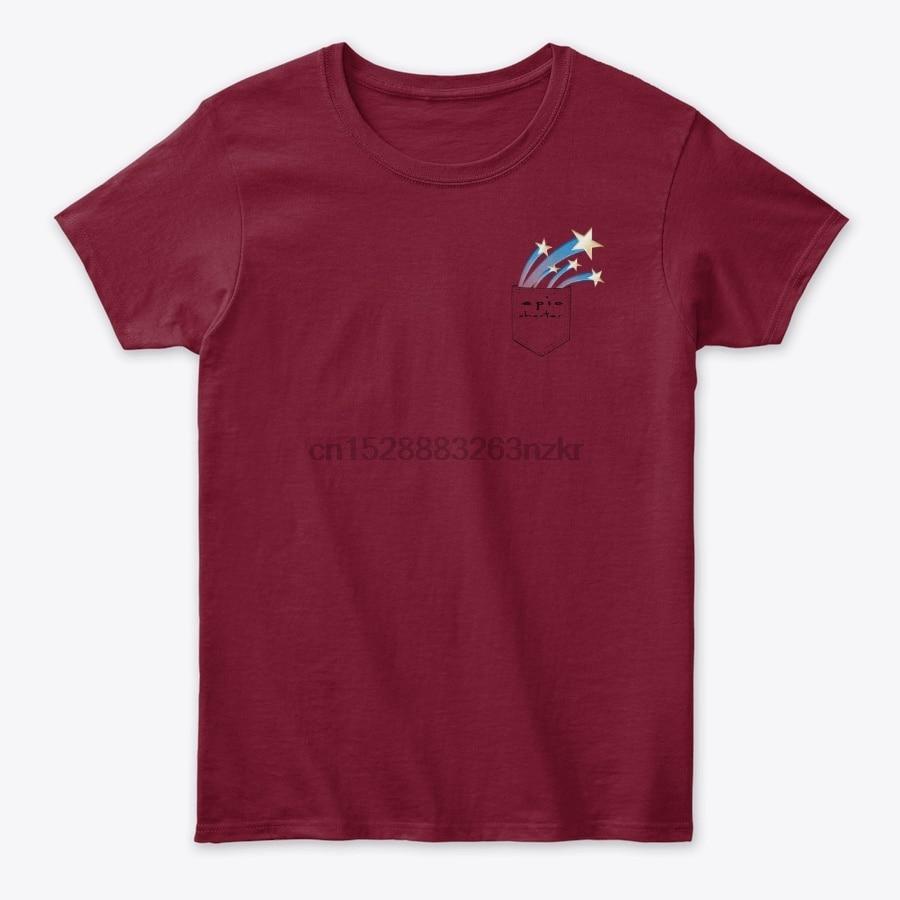 Camiseta épica de bolsillo de carta Rockstar para hombre y mujer