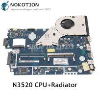 NOKOTION For Acer aspire E1-510 E1-510-2500 Laptop Motherboard Z5WE3 LA-A621P NBC3911001 NB.C3911.001 N3520 CPU