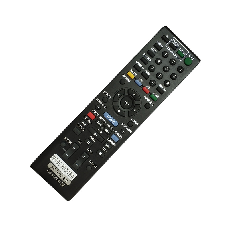 Control remoto para Sony AV BDV-E2100 BDV-E3100 BDV-E6100 RM-ADP076 RM-ADP089 BDV-E4100