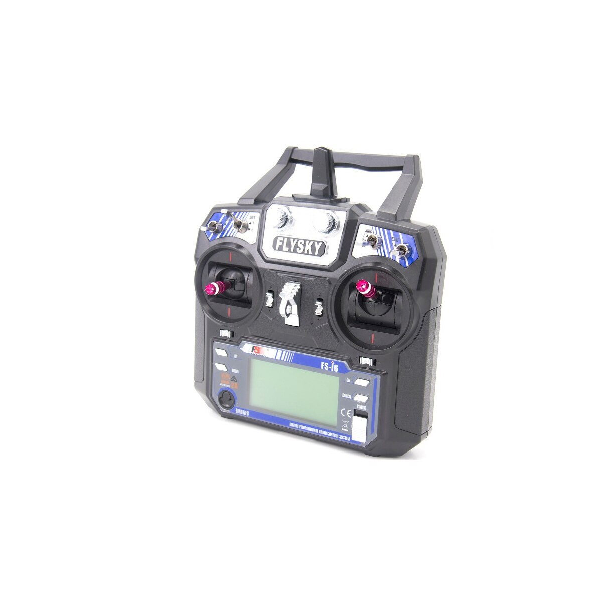 TCMM FlySky FS-i6 2.4GHZ 6CH Remote Control For RC Helicopter Multi-rotor drone enlarge