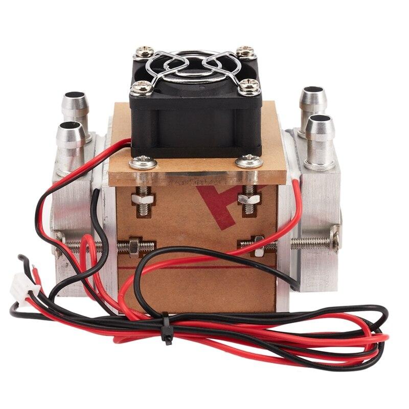 Лидер продаж, самодельный механизм для охлаждения холодильника с водяным охлаждением и вентилятором, 120 Вт, 1 шт.