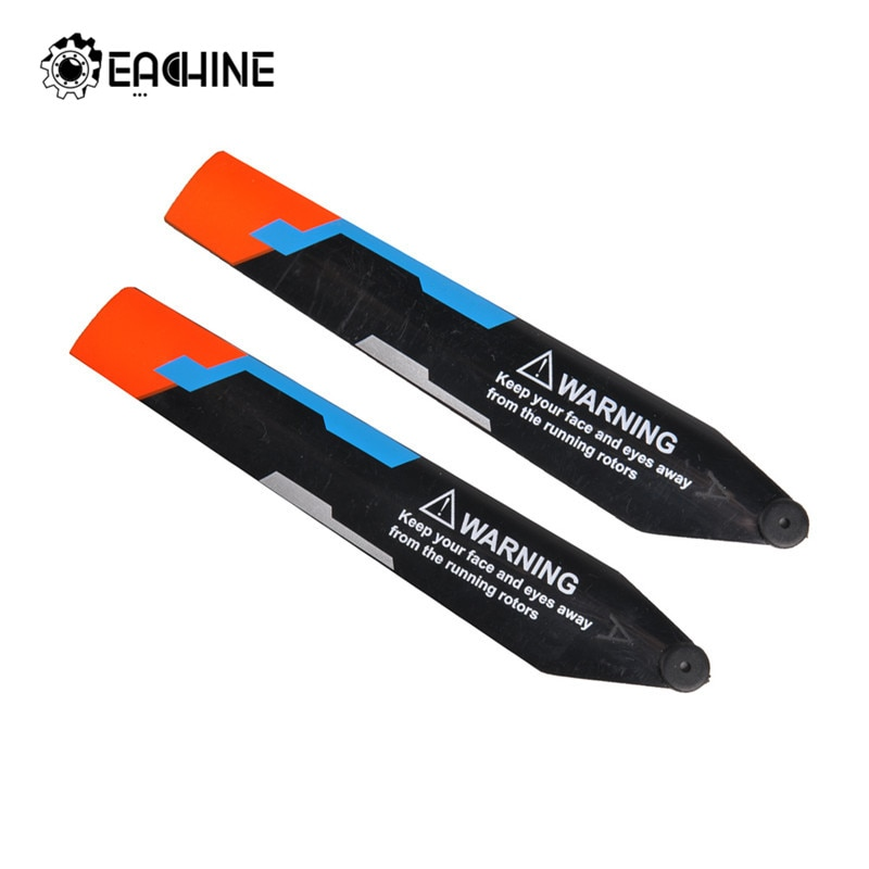 Original Eachine E119 2PCS ABS Main Blade Remote Control Helicopter Spare Parts Accessories