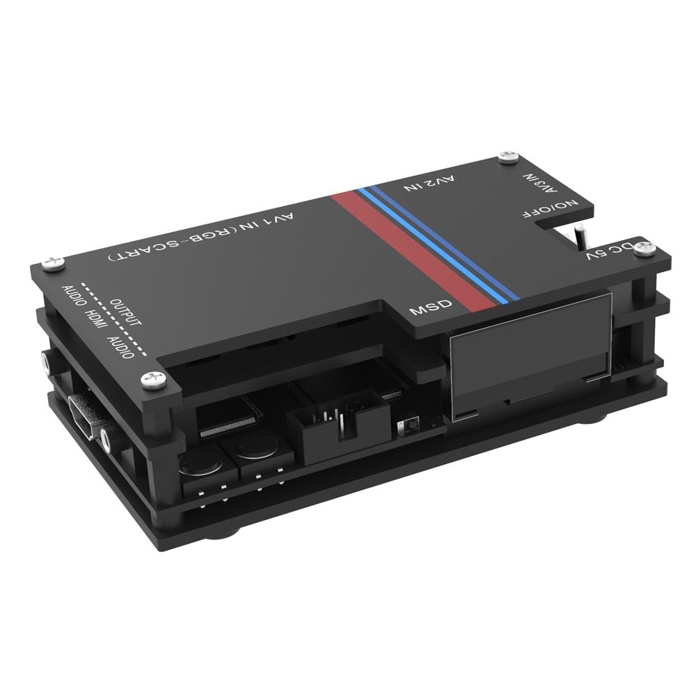 تعزيز طبعة OSSC-X برو HDMI المتوافق تحويل عدة ، مناسبة ل HD الفيديو تحويل من سوبر الرجعية ألعاب