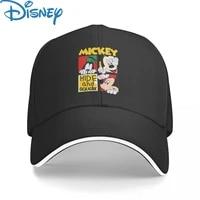 panama disney minnie mickey baseball cap men women hip hop dad sun hat trucker hat