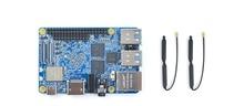 Placa de desarrollo RK3399 NanoPi M4 WiFi de doble banda Cámara Dual 4K Android 8,1 Ultra 3B + 2GB con memoria DDR3 USB3.0