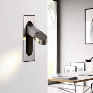 Modern Minimalist Wall Lamps Living Room Bedroom Bedside LED Sconce Wall Lamp Restuarant Corridor Hotel Aisle Lighting Fixture