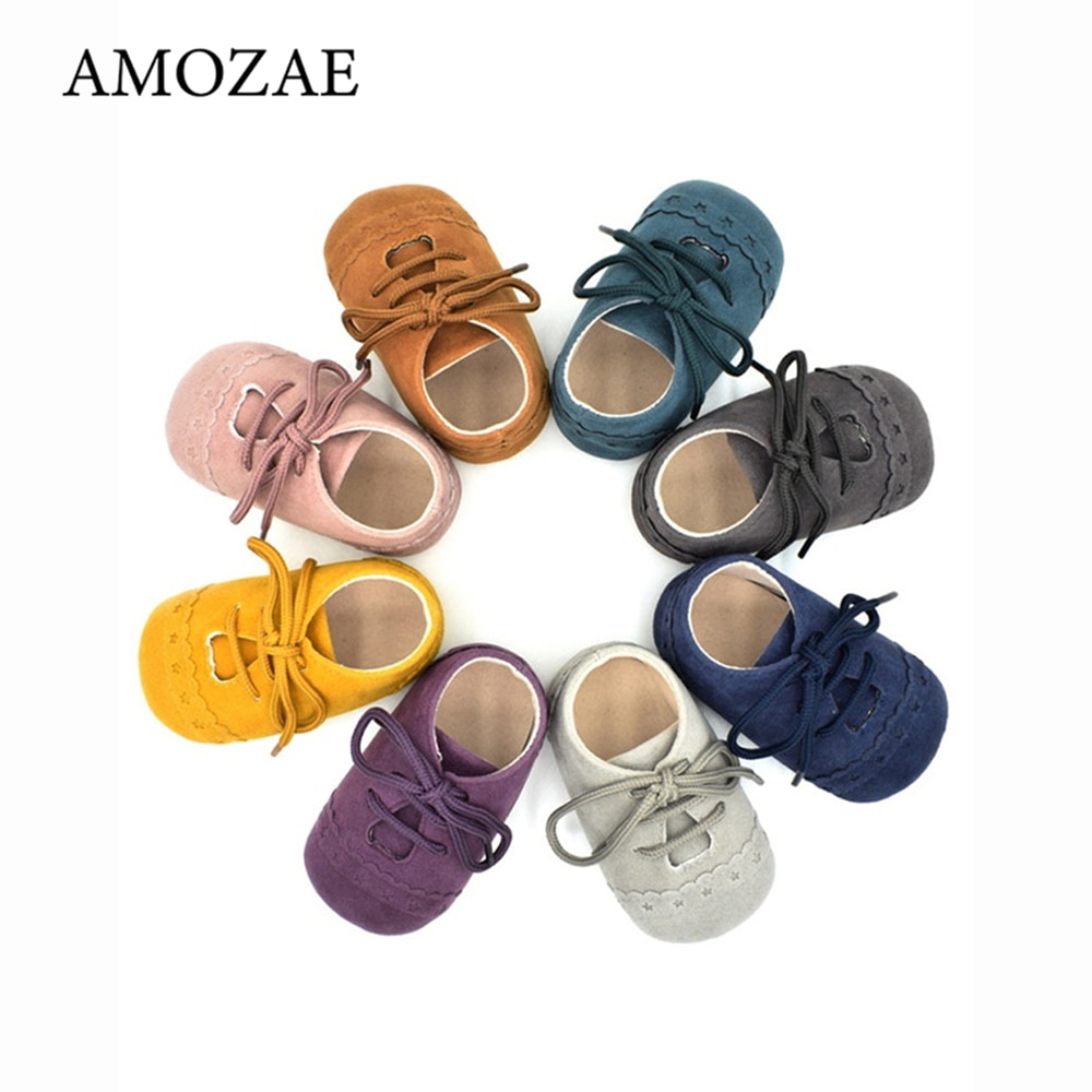 sweet pu baby girl shoes toddler infant anti slip polka dot pu first walkers shoes kids footwear shoes girls Baby Boys PU Leather Baby Shoes Bebes Unisex Infant Toddler Moccasins Baby Booties Kids Footwear Anti-Slip Casual First Walkers