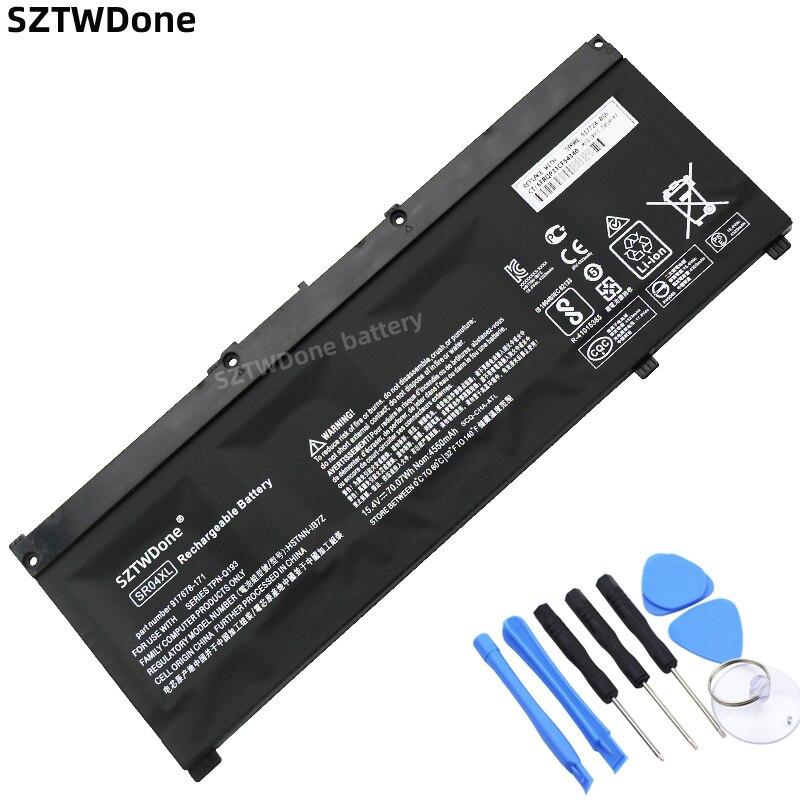 SZTWDONE SR04XL Laptop battery for HP 15-CE 15-cb 15-dc 15-CX TPN-Q211 TPN-Q193 TPN-Q194 TPN-C133 TPN-C134 HSTNN-DB7W 917724-855