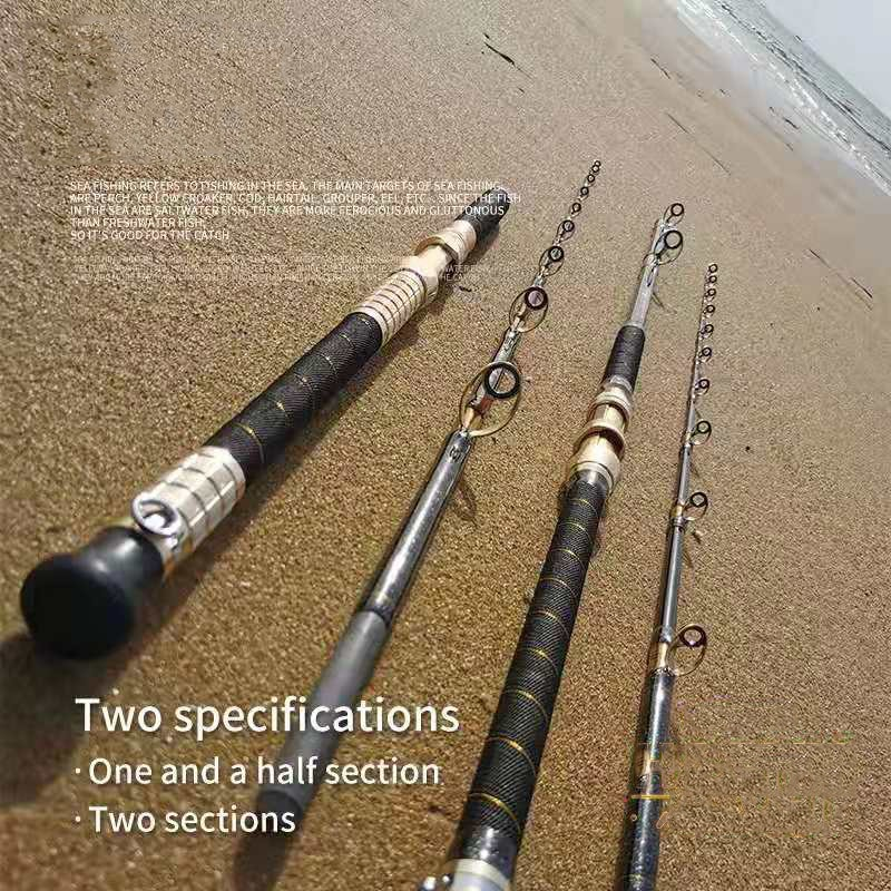 FRP Deep Sea Super Hard Boat Fishing Rod Offshore Angling Throwing Surfcasting Pole Rock High Quality Tackle Japan Jigging Gear enlarge