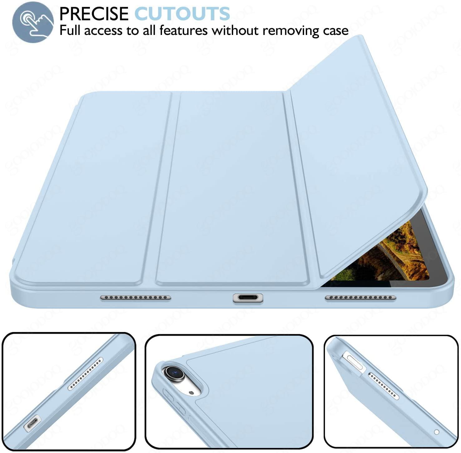 حافظة لجهاز iPad Air 4 iPad Pro 11 2020 2021 حافظة لجهاز iPad 8th من الجيل فوندا 8 6th 7th الجيل 10.2 Air 2020 Air 3 Mini Case