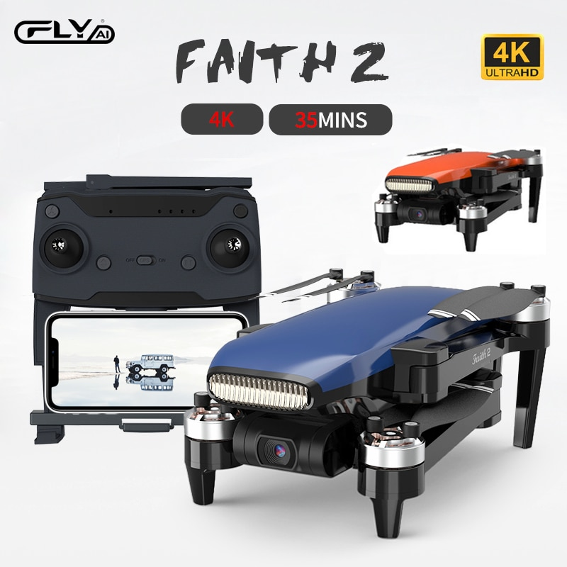C-FLY Faith 2 GPS Drone 4K HD Camera 3-Axis Gimbal Professional RC Quadcopter 35min Flight 5KM VS SG906 MAX F11 4K PRO ZINO PRO