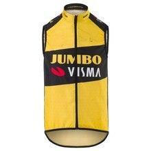 سترة صيفية ضخمة من Visma Pro Team 2020 بدون أكمام ملابس ركوب الدراجات الجبلية ملابس ركوب الدراجات Ciclismo