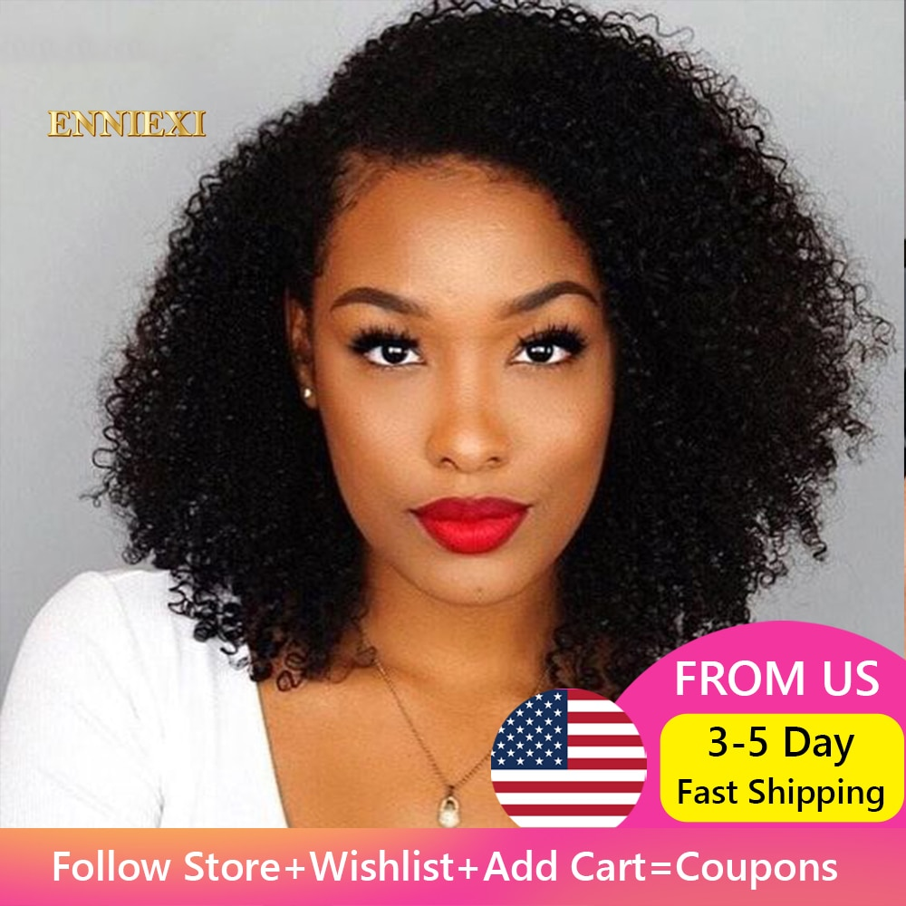 Short Bob Kinky Curly Lace Frontal Wig 4X4 Lace Closure Curly Lace Front Wigs For Women Bob Wig Brazilian Curly Human Hair Wigs