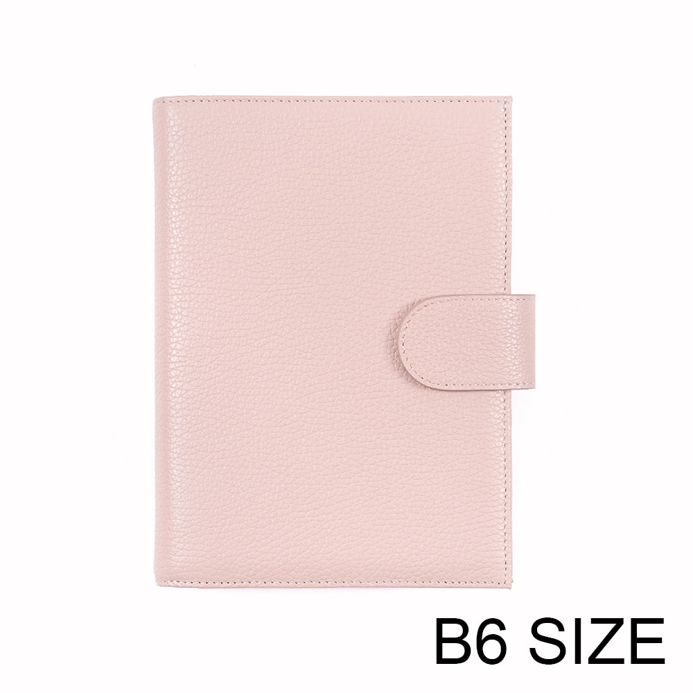 Moterm Genuine Leather Cover for Stalogy B6 Size Notebook Cover Diary Planner Journal Stationery Agenda Organizer with BigPocket