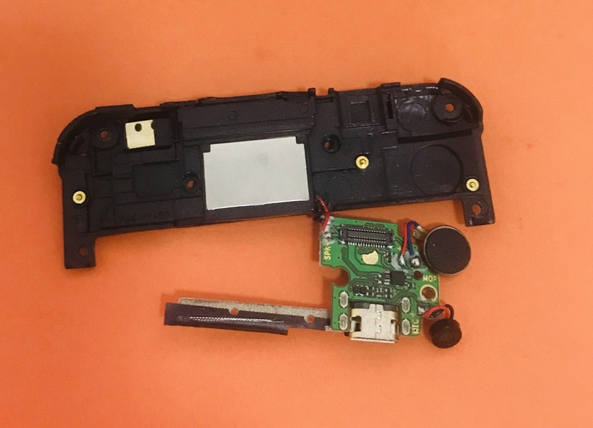"Tablero de carga de enchufe USB Original usado para Homtom HT37 Pro MTK6737 Quad Core 5,0 ""HD envío gratis"
