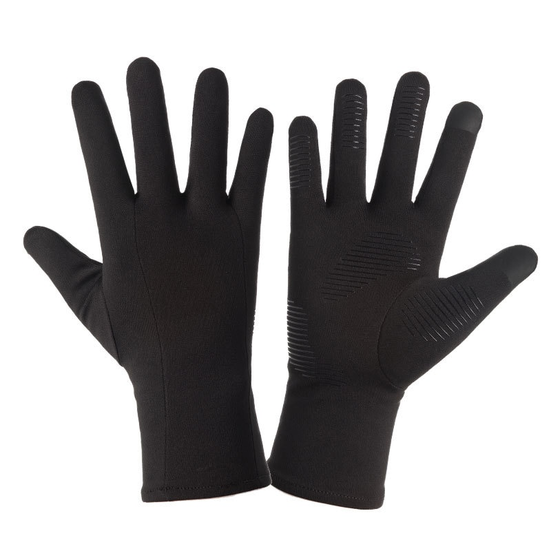 warm winter safety glove split cow leather welding work glove Winter Warm Gloves Men Ski Gloves Snowboard Gloves Motorcycle Riding Winter Touch Screen Snow Windstopper Fishing Work Glove