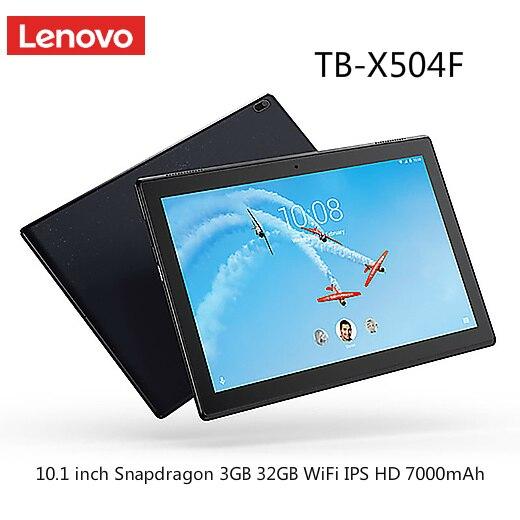 Lenovo TB-X504F 10.1 inch Tablet Qualcomm Snapdragon 425 Android 7.1 3GB 32GB dual-band WiFi IPS HD 7000mAh