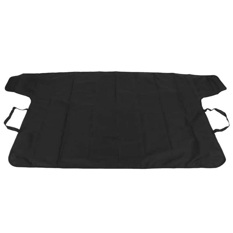 الظلال القبة السماوية الجبهة الزجاج الأمامي الثلوج غطاء المطر واقية الشمس الظل حامي ملحق سيارة أسود 190.5x107 سنتيمتر خيمة الظل